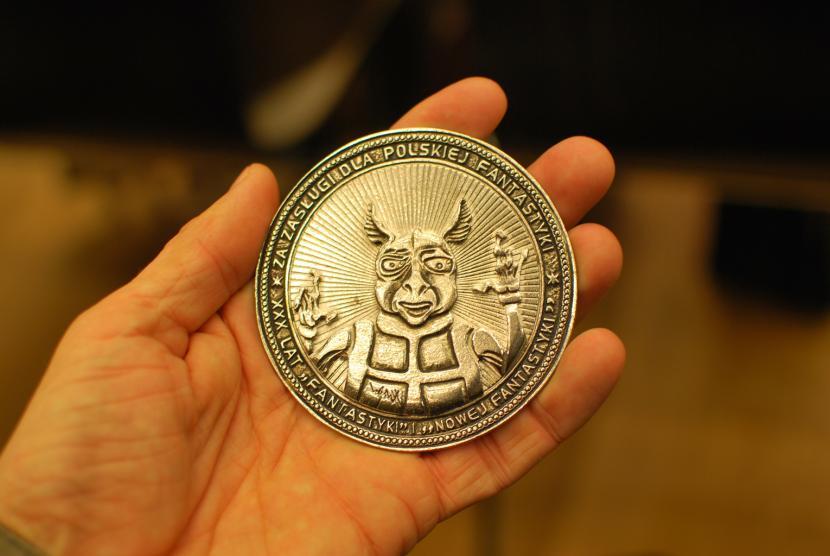 Medal XXX-lecie Nowej Fantastyki