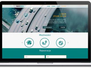 navibox, projekt strony www, RD, Grzegorz Stancel