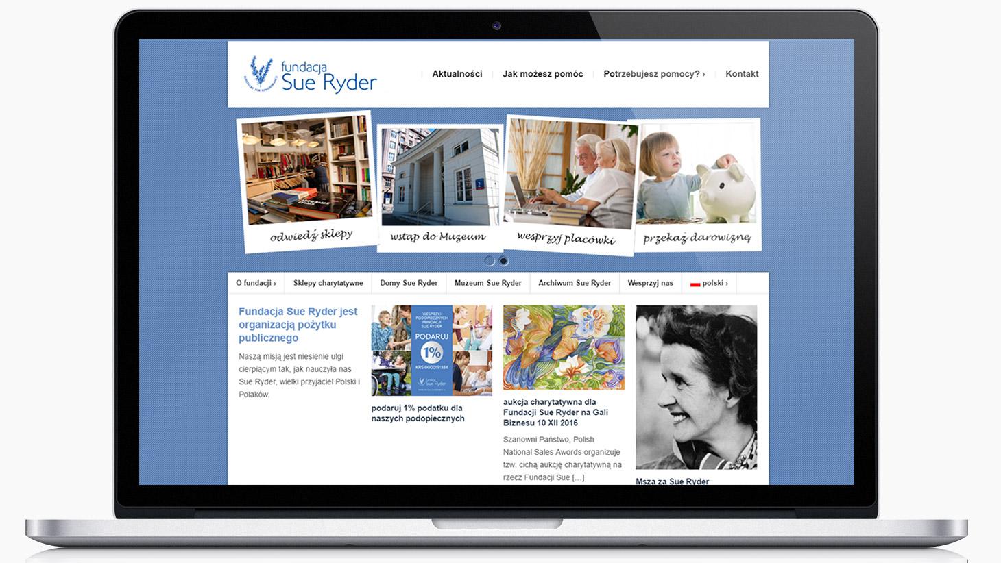 www Fundacja Sue Ryder | tomeson.com