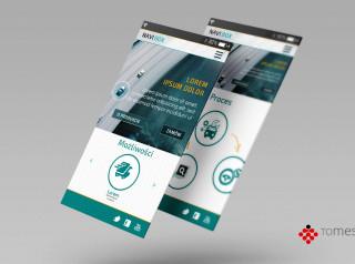 UI, aplikacja mobilna, navibox